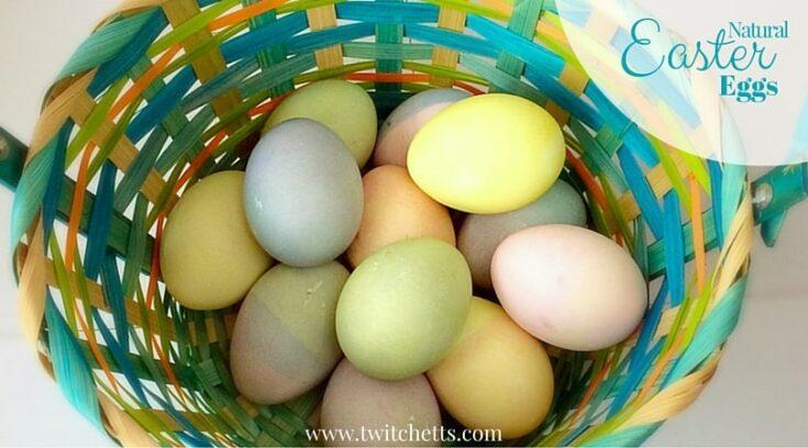 Master Easter Egg Decorating Using Natural Dyes