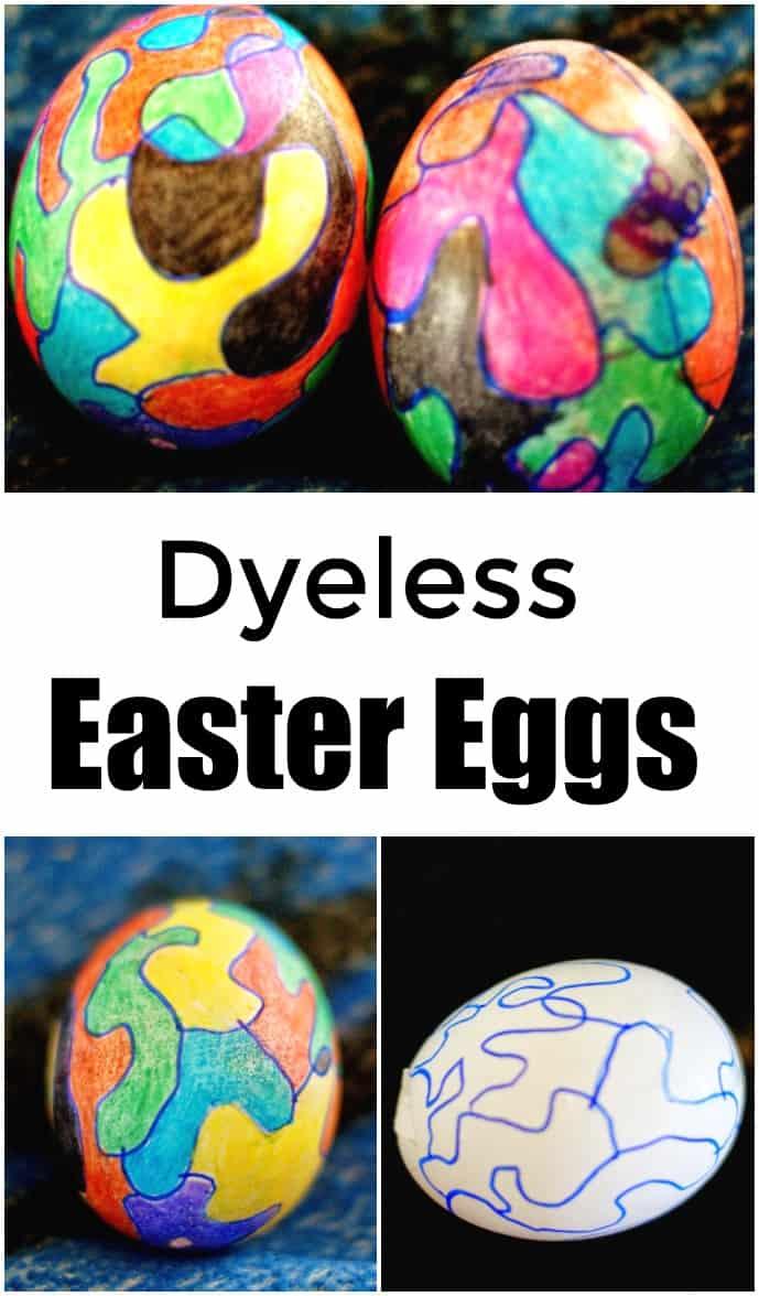 Dyeless Easter Eggs