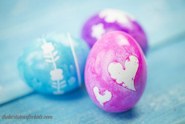 Silhouette Easter Eggs