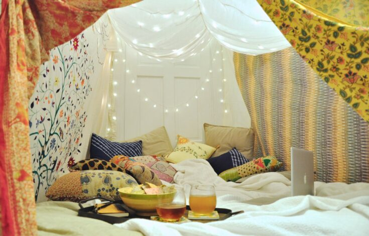 Blanket Forts for Grown-up Kids