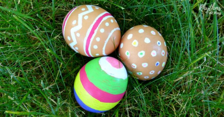 COLOR Natural Brown Eggs for Easter