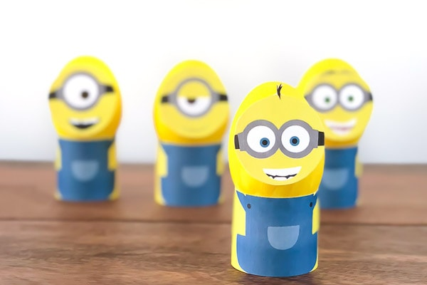 Super Easy DIY Minion Easter Eggs With Free Printables
