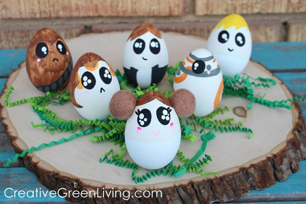 How to Decorate Star Wars Easter Eggs