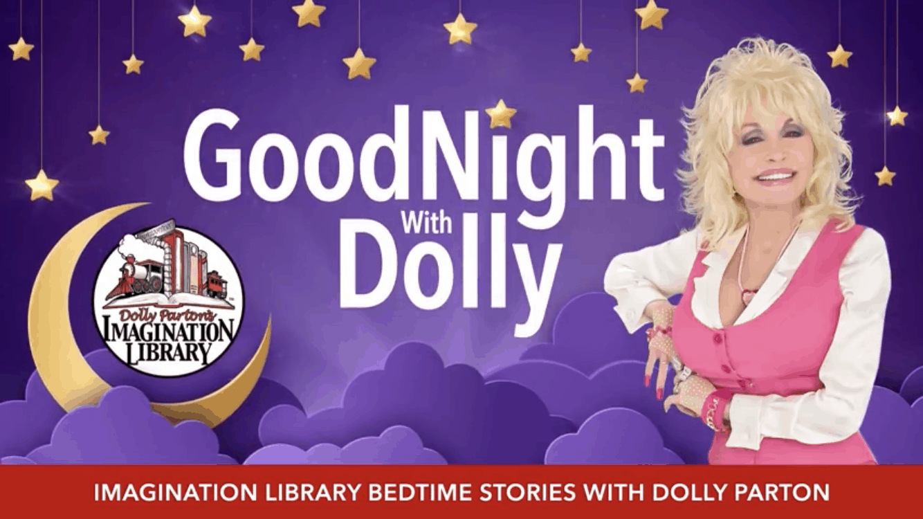 Dolly Parton reads bedtime stories