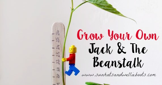 """Grow Your Own """"Jack & the Beanstalk"""" with LEGOS"""