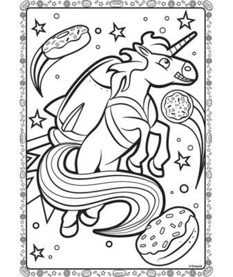 unicorn with jetpack