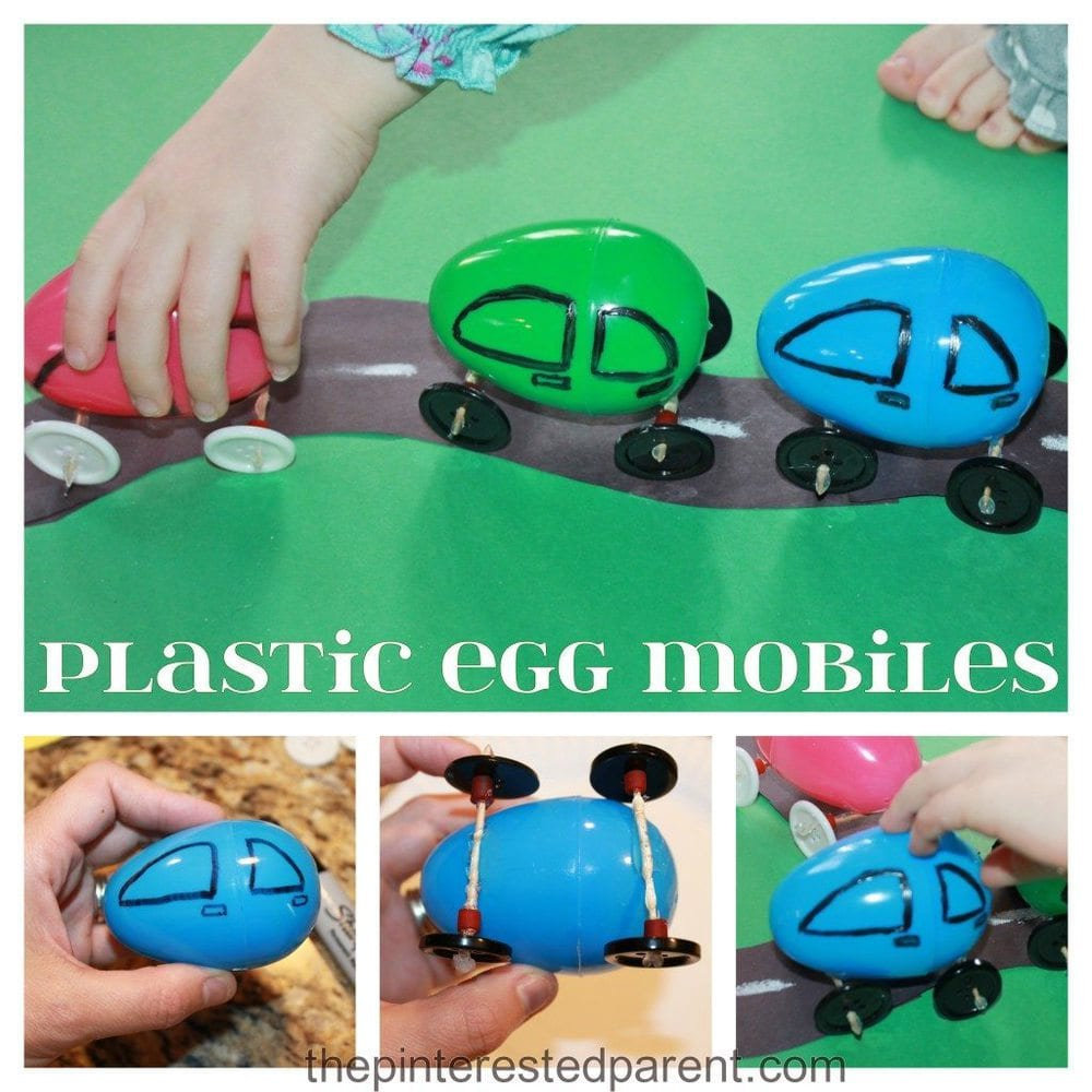 Plastic Egg Cars
