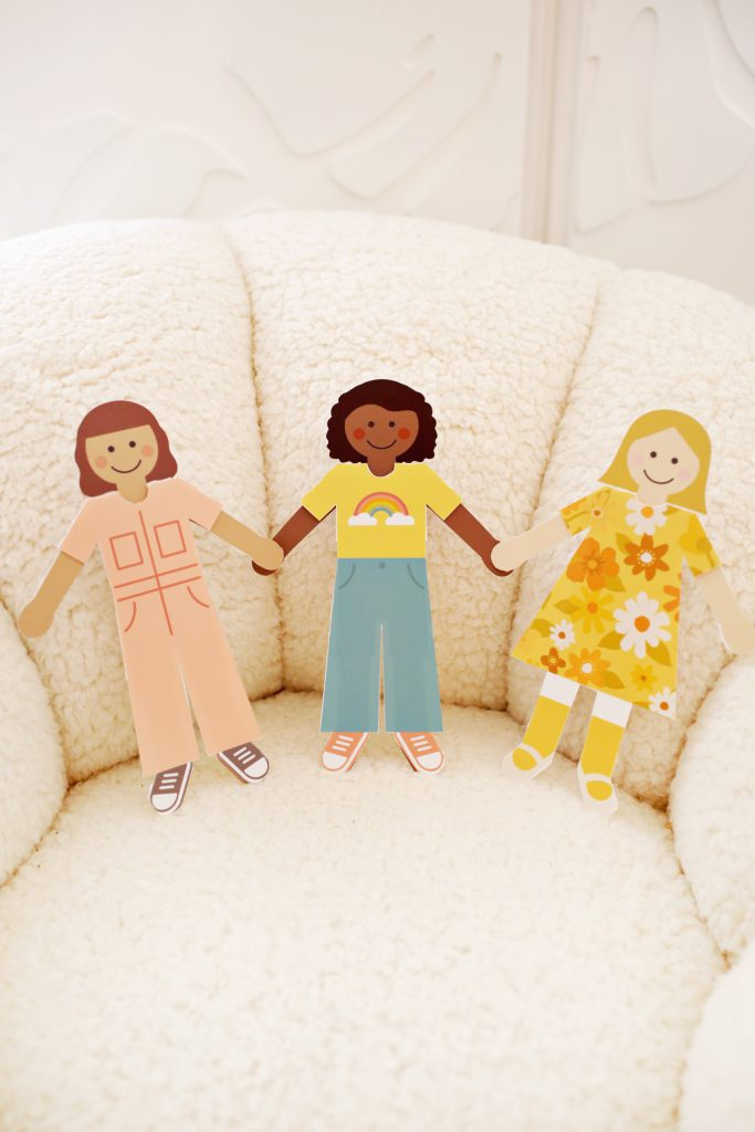 DIY Basic Paper Dolls