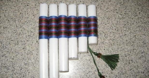 How to Make a Panpipe / Pan Flute