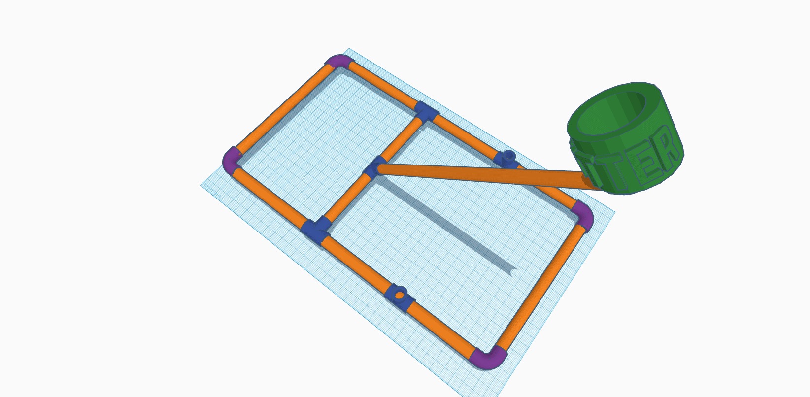 blueprint of pvc pipe catapult