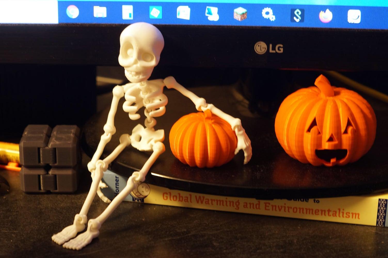 3d printed skeleton