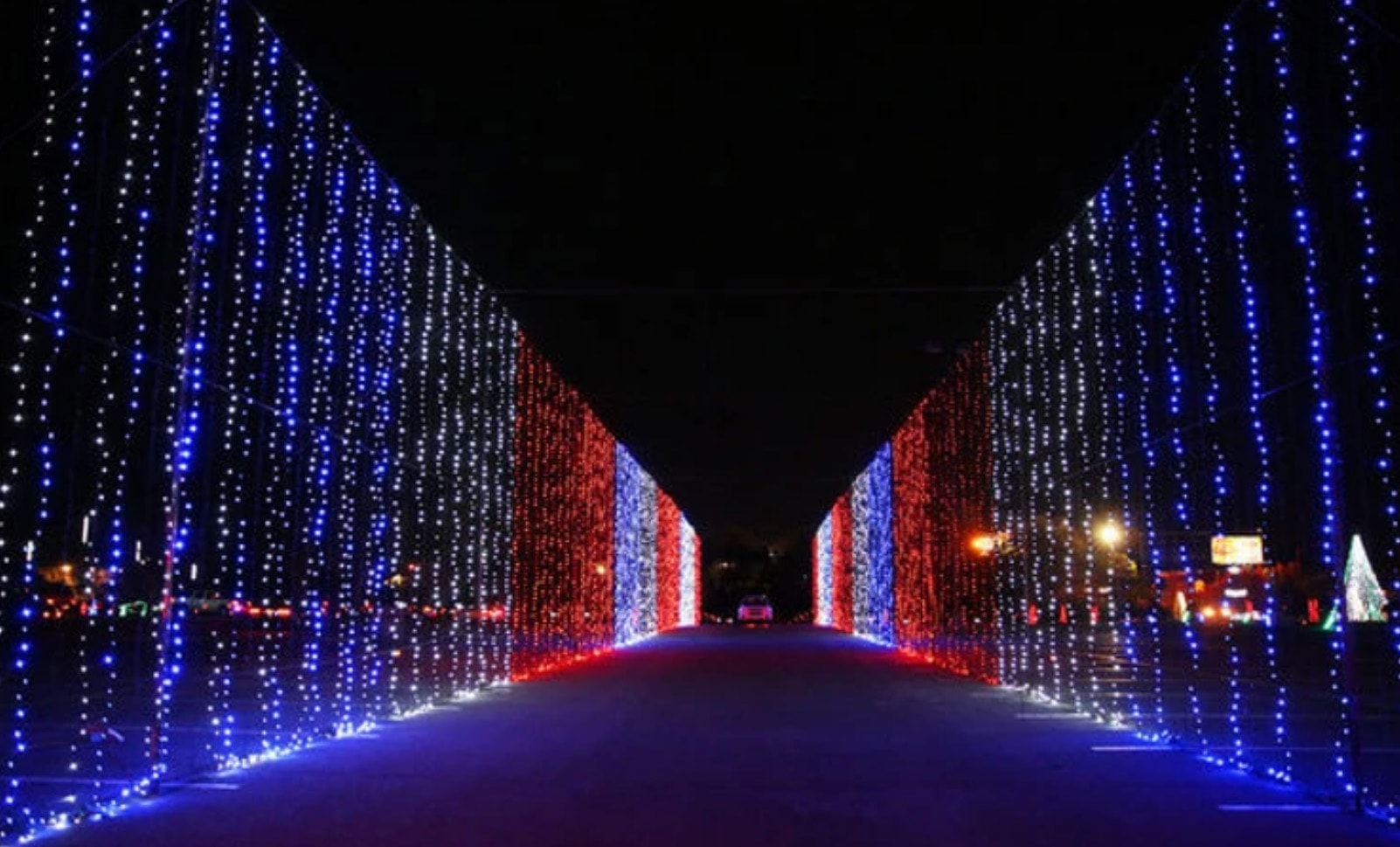 Wonderlight wall of lights